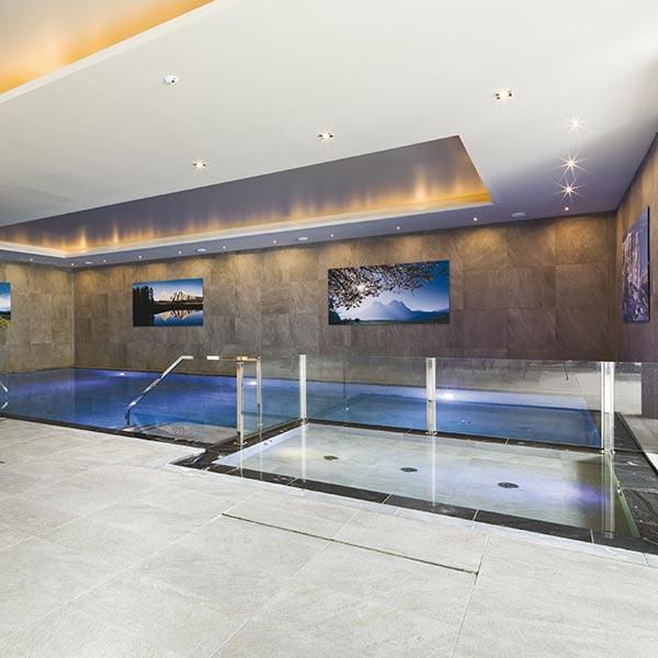 Pool des Hotels Villamadonna