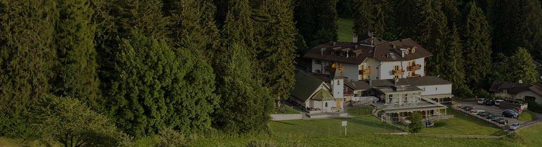 vista panoramica dall'hotel villamadonna, foresta dello Sciliar