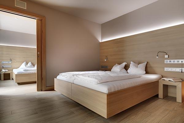 letto hotel camera comfort