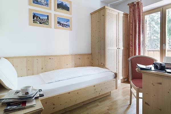 vista camera senza balcone hotel villamadonna