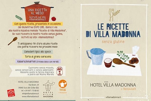 Ricette hotel villamadonna glutenfree EXPO 2015