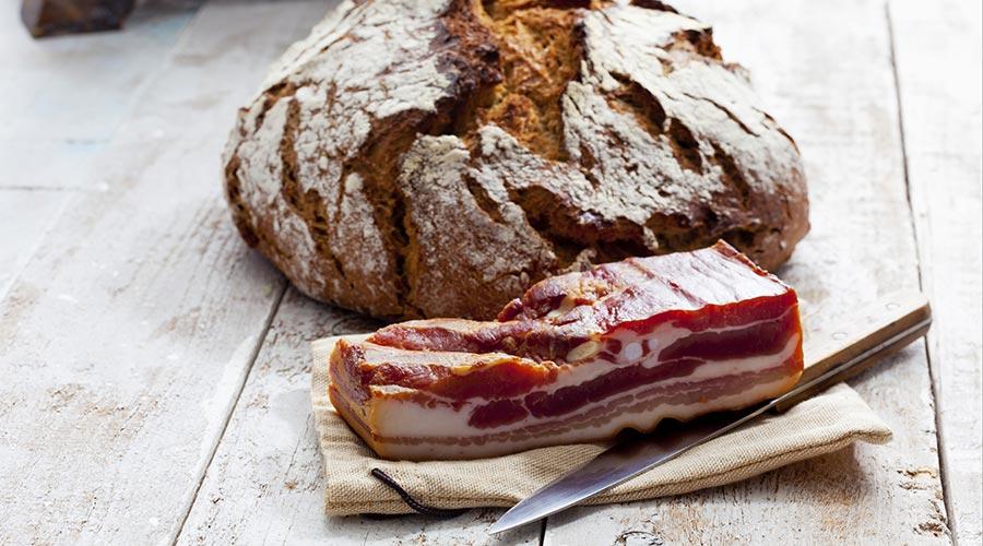 Ricetta pane senza glutine con lo speck tirolese