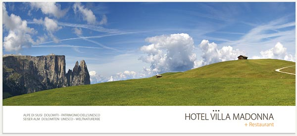 panorama Alpe di Siusi estate