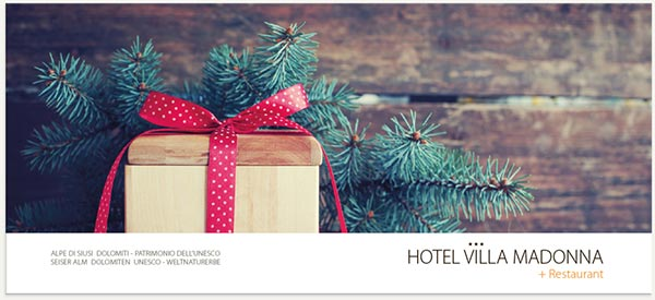 Regalo di Natale Hotel Villamadonna